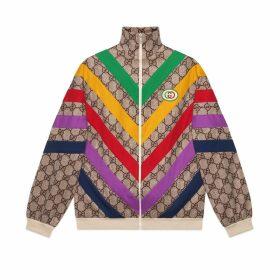 GG Supreme print jacket