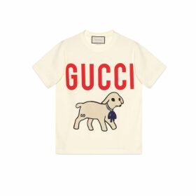 T-shirt with Gucci lamb