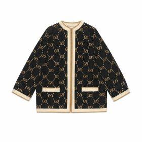 GG wool knit jacket