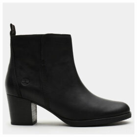 Timberland Eleonor Street Ankle Boot For Women In Black Black, Size 4.5