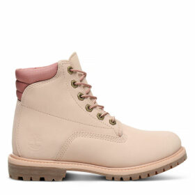 Timberland Waterville 6 Inch Boot For Women In Pink Pink, Size 3.5