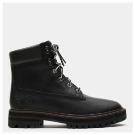 Timberland London Square 6 Inch Boot For Women In Black Black, Size 6