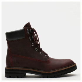 Timberland London Square 6 Inch Boot For Women In Burgundy Burgundy, Size 5.5