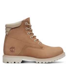 Timberland Waterville 6 Inch Boot For Women In Beige Beige, Size 7.5