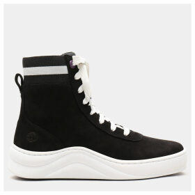 Timberland Ruby Ann High Tops For Women In Black Black, Size 9