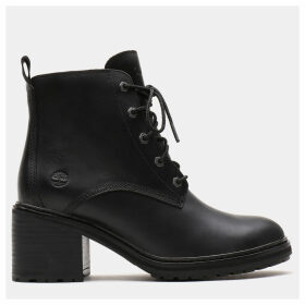 Timberland Sienna High Lace-up Boot For Women In Black Black, Size 6.5