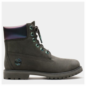 Timberland 6 Inch Iridescent Premium Boot For Women In Dark Green Dark Green, Size 9