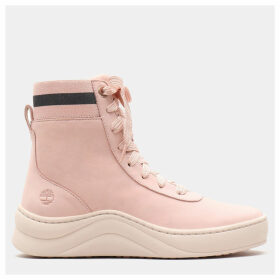Timberland Ruby Ann High Tops For Women In Pink Pink, Size 8