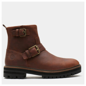 Timberland London Square Biker Boot For Women In Brown Brown, Size 9
