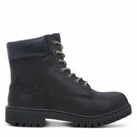 Timberland Women's Pro 6-inch Worker Boot Black Black, Size 7.5