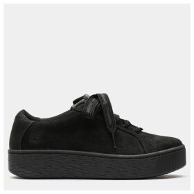 Timberland Marblesea Leather Sneaker For Women In Black Black, Size 9