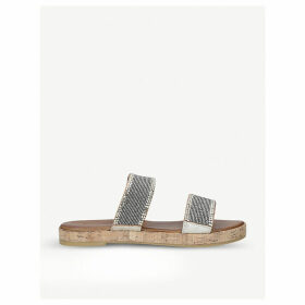 Samara leather slip-on sandals