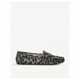 Mocassino suede loafers