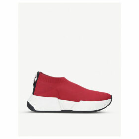 Marcel slip-on textile trainers