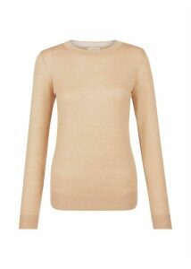 Penny Merino Wool Sweater Camel