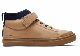 TOMS Honey Synthetic Suede Youth Cusco Sneakers Shoes - Size UK1