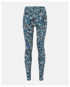 Stella McCartney Blue Black AlphaSkin Tight, Women's, Size L