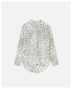 Stella McCartney White Kiera Shirt, Women's, Size 12