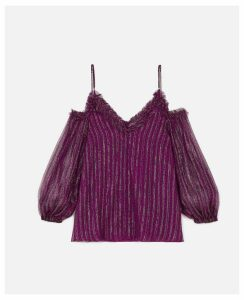 Stella McCartney Purple Kiara Top, Women's, Size 14