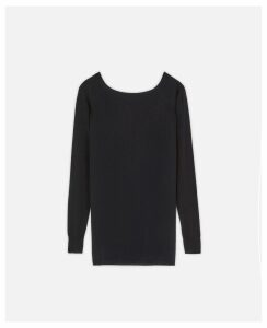Stella McCartney Black Black Top, Women's, Size 10