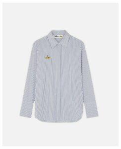 Stella McCartney White Yellow Submarine Shirt, Women's, Size 12