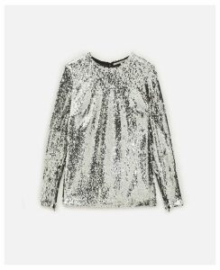 Stella McCartney GREY Norah Top, Women's, Size 4