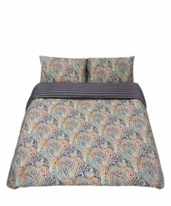 Felix And Isabelle Cotton Sateen Super-King Duvet Cover Set