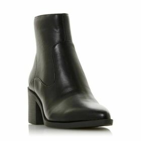 Dune Princesss Stacked Heel Ankle Boots
