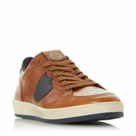 Dune Tribe Leather Distressed Trainers