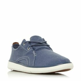 Dune A1Z13 Washed Canvas Trainers