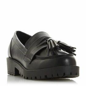 Dune Gamila Round Toe Flat Loafers