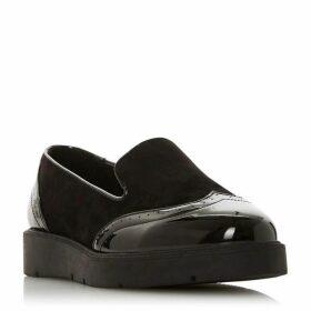 Dune Gambler Flatform Loafers