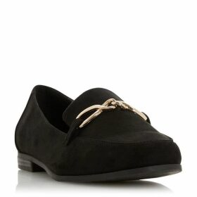 Dune Gaho Twist Front Detail Loafers