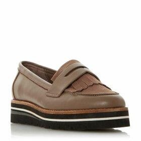 Dune Gracella Flatform Slip On Loafers