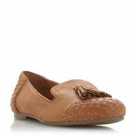 Dune Gilson Woven Tassel Loafers