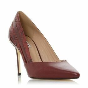 Dune Barrelle Panel Detail Pointed Court Shoes