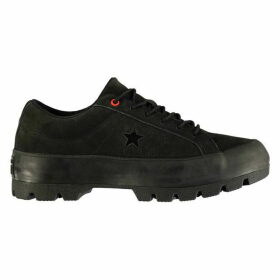 Converse Lifestyle One Star Lug Trainers