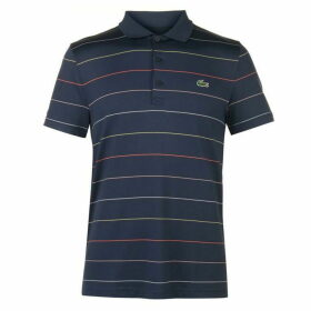 Lacoste Sport Striped Technical Golf Polo