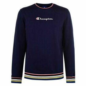 Champion Rib Crew Neck Sweatshirt