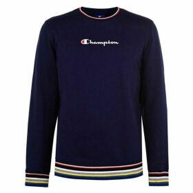 Champion Rib Crew Neck Sweatshirt