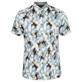 Ted Baker Glovers Monkey Print Shirt