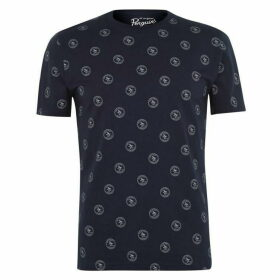 Original Penguin Logo Print T Shirt