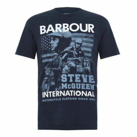 Barbour International Collage T Shirt