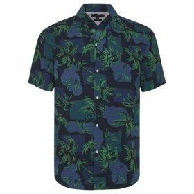 Tommy Hilfiger Palm Tree Print Shirt