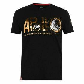Alpha Industries Apollo 11 Anniversary Foil T Shirt