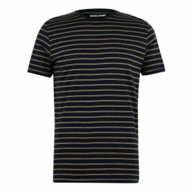 Jack and Jones Thin Stripe T Shirt