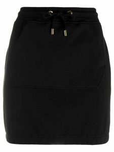 Moschino jersey mini skirt - Black