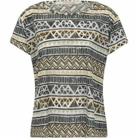 Nougat Aztec Scoop T/Shirt