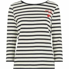 Whistles Mon Cheri Striped Top