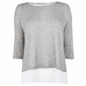 Oui Sparkle Knit T Shirt